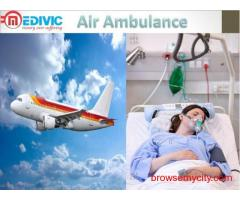 Get Fast Air Ambulance from Bhopal by Medivic Aviation